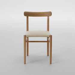 Lightwood Armless Chair (Cushioned) | Sillas | MARUNI