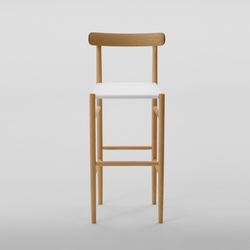 Lightwood Bar Stool High (Mesh Seat) | Taburetes de bar | MARUNI