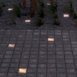 #9 SunStone | LED recessed floor lights | out-sider