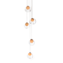 Series 28.5 random | Suspended lights | Bocci