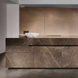 Limestone | Island kitchens | eggersmann