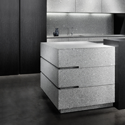 Lupus Grey | Island kitchens | eggersmann