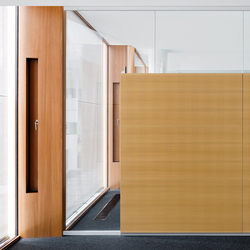 fecoplan top glazing partition wall | Partition wall systems | Feco