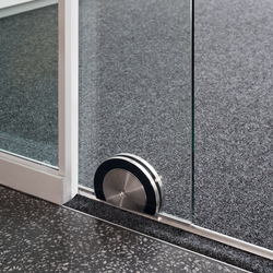 fecoplan sound-insulating all-glass sliding door | Portes d'intérieur | Feco