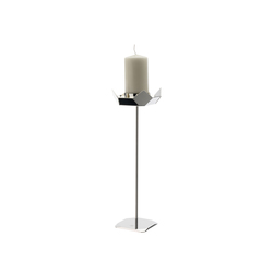 Poligono candle holder 350 | Candelabros | Forhouse