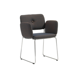 Dundra Chair S70A Upholstered Armchair | Restaurantstühle | Blå Station