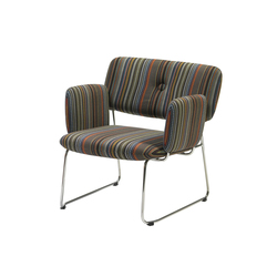 Dundra Chair S71A Upholstered Armchair | Fauteuils d'attente | Blå Station