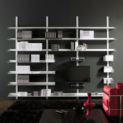 Epomeo | Entertainment Modular System | Multimedia sideboards | Aico Design