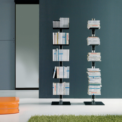 Totem | Free-standing Book Storage | Regale | Aico Design