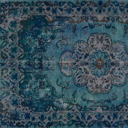 Decolorized blue | Tapis / Tapis design | GOLRAN 1898