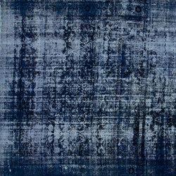 Decolorized dark blue | Formatteppiche / Designerteppiche | GOLRAN 1898