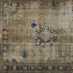 Decolorized Mohair aqua | Tapis / Tapis design | GOLRAN 1898