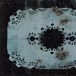 Decolorized Mohair black | Tapis / Tapis design | GOLRAN 1898