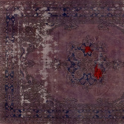 Decolorized Mohair lilla | Rugs / Designer rugs | GOLRAN 1898