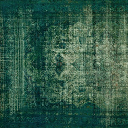 Decolorized turquoise | Rugs / Designer rugs | GOLRAN 1898