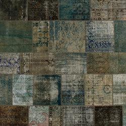 Patchwork aqua | Rugs / Designer rugs | GOLRAN 1898