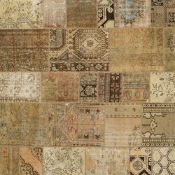 Patchwork beige | Tappeti / Tappeti d'autore | GOLRAN 1898