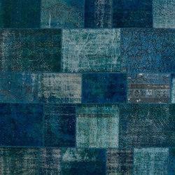 Patchwork blue | Rugs / Designer rugs | GOLRAN 1898