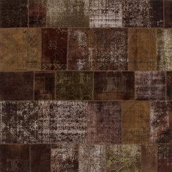 Patchwork brown | Tappeti / Tappeti d'autore | GOLRAN 1898