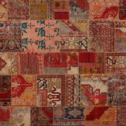 Carpet reloaded collection golran - Tapis cuir patchwork ...