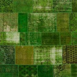 Patchwork green | Rugs / Designer rugs | GOLRAN 1898