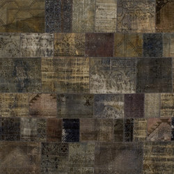 Patchwork grey | Tappeti / Tappeti d'autore | GOLRAN 1898
