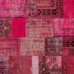 Patchwork pink | Rugs / Designer rugs | GOLRAN 1898