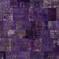 Patchwork purple | Rugs / Designer rugs | GOLRAN 1898