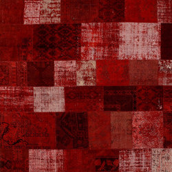 Patchwork red | Tappeti / Tappeti d'autore | GOLRAN 1898