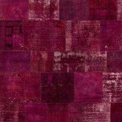 Patchwork wine | Rugs / Designer rugs | GOLRAN 1898