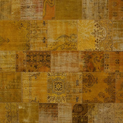 Patchwork yellow | Tapis / Tapis design | GOLRAN 1898