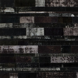 Patchwork Restyled black | Tappeti / Tappeti d'autore | GOLRAN 1898
