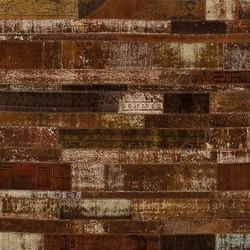 Patchwork Restyled brown | Alfombras / Alfombras de diseño | GOLRAN 1898