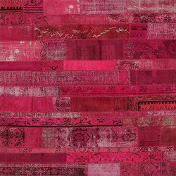 Patchwork Restyled pink | Tappeti / Tappeti d'autore | GOLRAN 1898