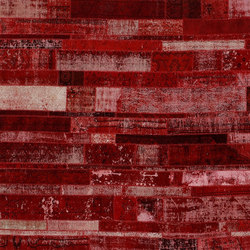 Patchwork Restyled red | Tapis / Tapis design | GOLRAN 1898