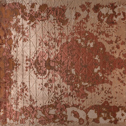 Memories Firuzabad rame | Tappeti / Tappeti d'autore | GOLRAN 1898