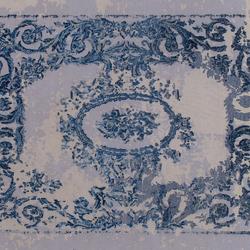Memories Grand Palais lapis | Rugs / Designer rugs | GOLRAN 1898