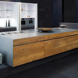 Embossed Oak | Island kitchens | eggersmann