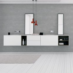 Strato Bathroom Furniture Set 12 | Meubles sous-lavabo | Inbani