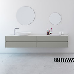 Strato Bathroom Furniture Set 21 | Unterschränke | Inbani