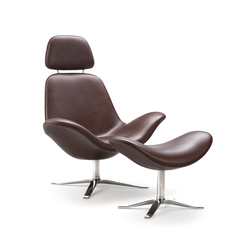 Concord Armchair with neck rest | Lounge chairs | Stouby
