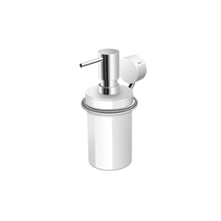 Soap dispenser with holder | Dosificadores de jabón | HEWI