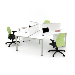Plato Triple Working Desk | Tischsysteme | Nurus