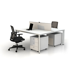 Plato Double Working Desk | Sistemi tavolo | Nurus