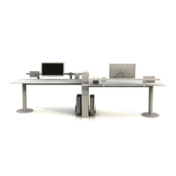 Faces Double Desk | Desking systems | Nurus