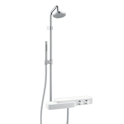 AXOR Bouroullec showerpipe with thermostatic mixer DN15 | Shower taps / mixers | AXOR