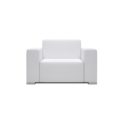 Block 80 1 Seat 2 arm | Garden armchairs | Design2Chill