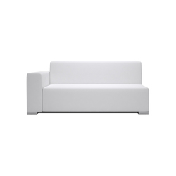 Block 80 2 Seater 1 arm | Modulare Sitzelemente | Design2Chill