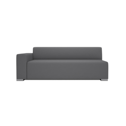 Block 90 3 Seater 1 arm | Modular seating elements | Design2Chill