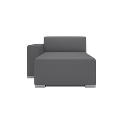 Block 90 Longschair 1 arm | Modular seating elements | Design2Chill